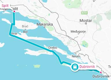 Dubrovnik-Split
