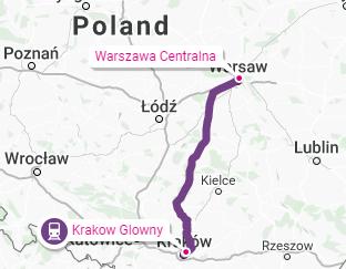 Krakow-Warsaw