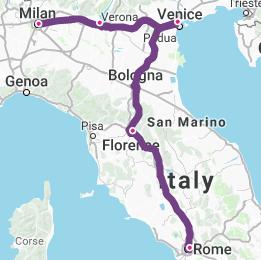 Milan-Lake-Garda-Venice-Florence-Rome